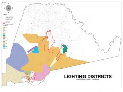 """<span style=""""text-align: -webkit-center;"""">This map shows Lighting & Council District boundaries.</span>"""