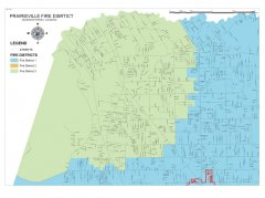 """<span style=""""text-align: -webkit-center;"""">This map shows the Prairieville fire district boundaries.</span>"""