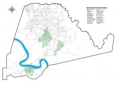 """<span style=""""text-align: -webkit-center;"""">This map shows the Parks and Civic/Community Centers throughout the parish.</span>"""