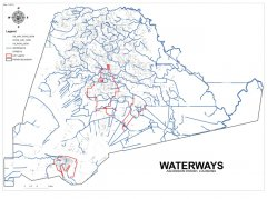 """<span style=""""text-align: -webkit-center;"""">This map shows the waterways throughout the parish.</span>"""